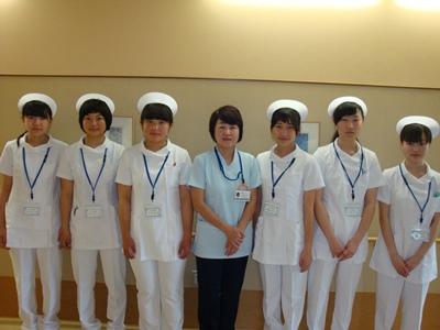 川西湖山病院「ふれあい看護体験」