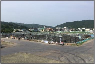 仙台 有料・老健の建築進捗状況①