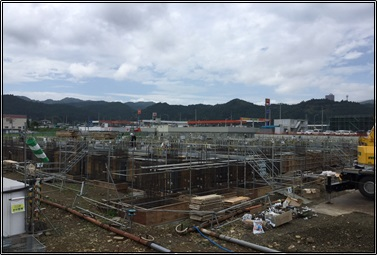 仙台 有料・老健の建築進捗状況②