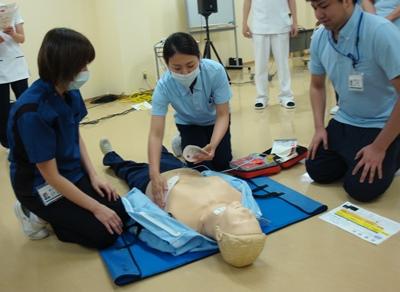 川西湖山病院 勉強会「患者急変対応」