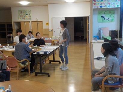 楓の家 職員勉強会