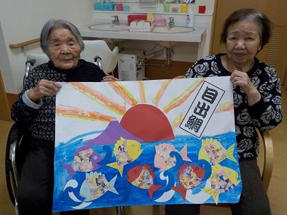 湖山ケアサービス米沢★☆12月の創作活動★