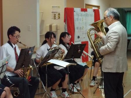 満天の家『ようこそ!小国高等学校 吹奏楽部の皆さん!』