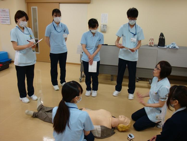 川西湖山病院勉強会「患者急変時対応」