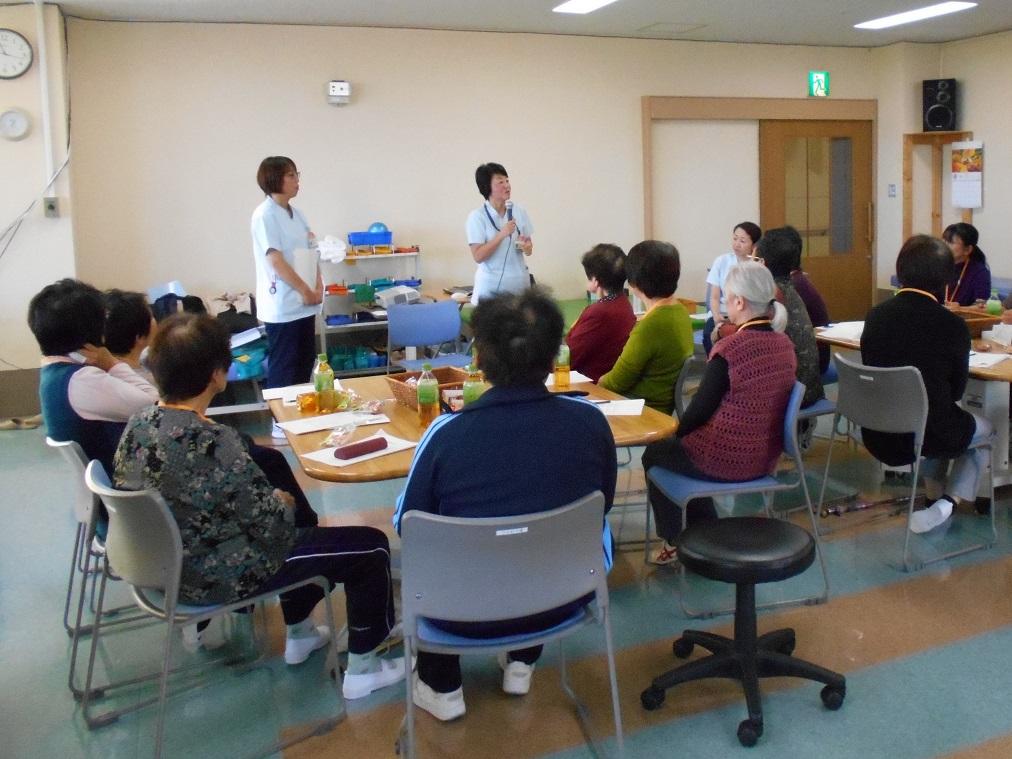 川西湖山病院 リハビリテーション科「こやまハツラツ教室~4回目~」