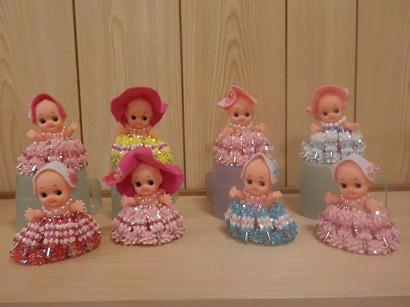 楓の家 キューピー人形作り