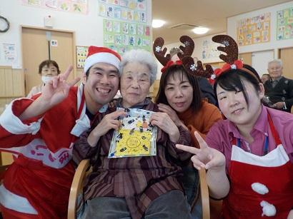 楓の家 クリスマス会 ~サンタクロースがやってきた‼~
