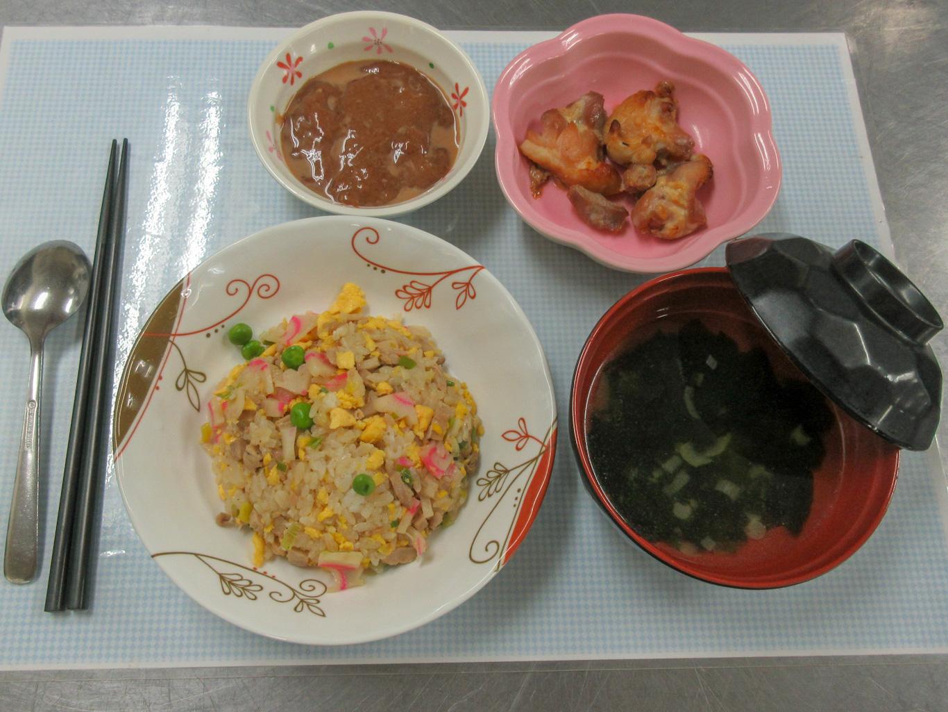 川西湖山病院 栄養科「12月の調理師メニュー」