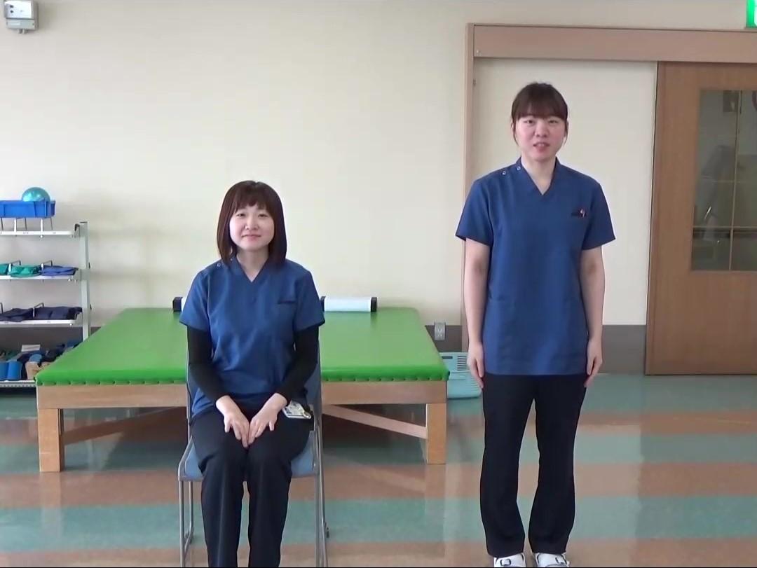 川西湖山病院 リハビリテーション科「みんなで楽しく 認知症予防運動😄」