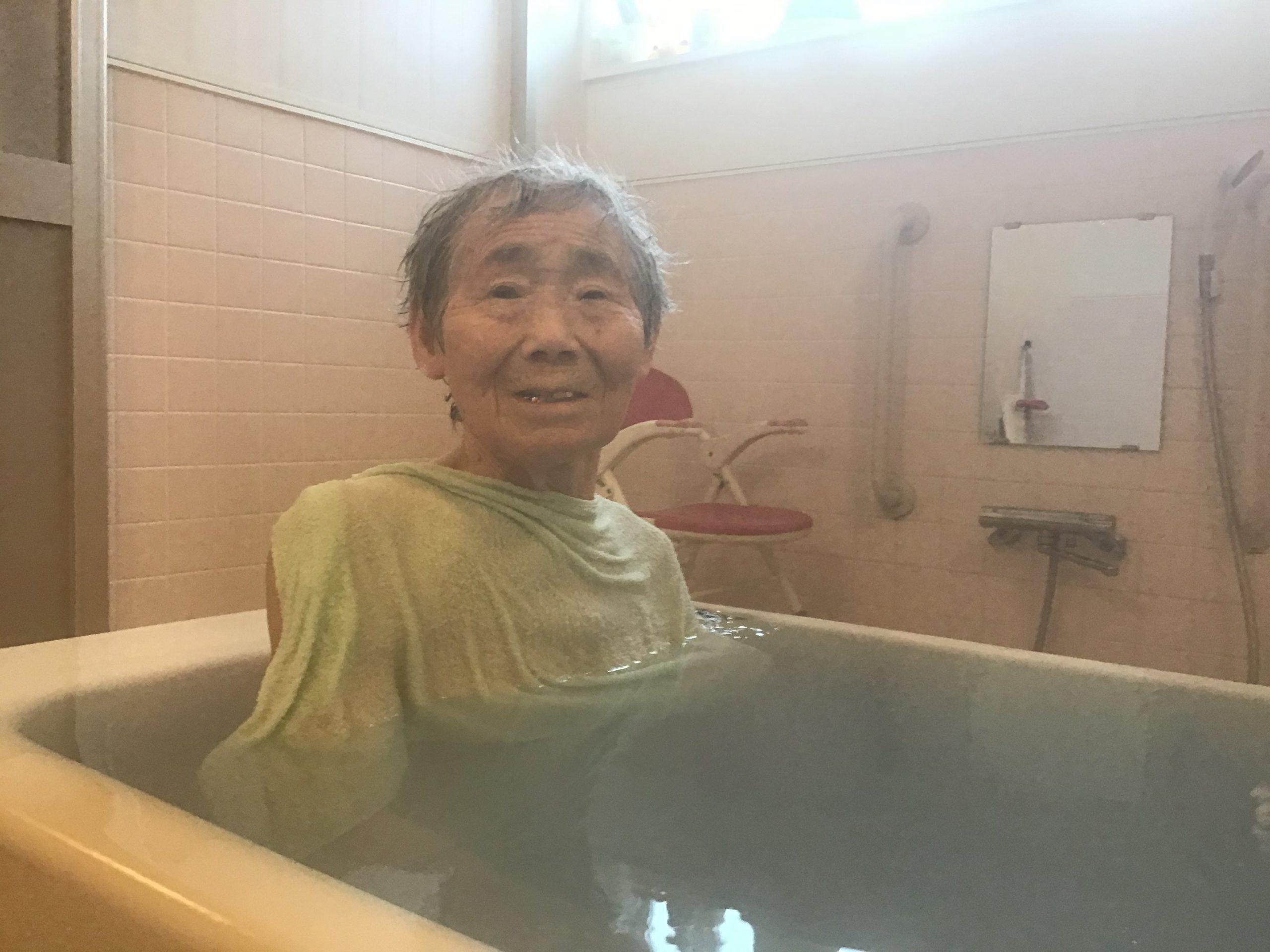 ☆湖山ケアサービス米沢☆良い湯だな〜