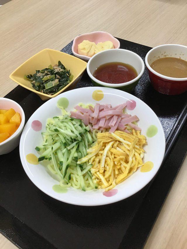 オードエクラ「選択食・冷やし中華」