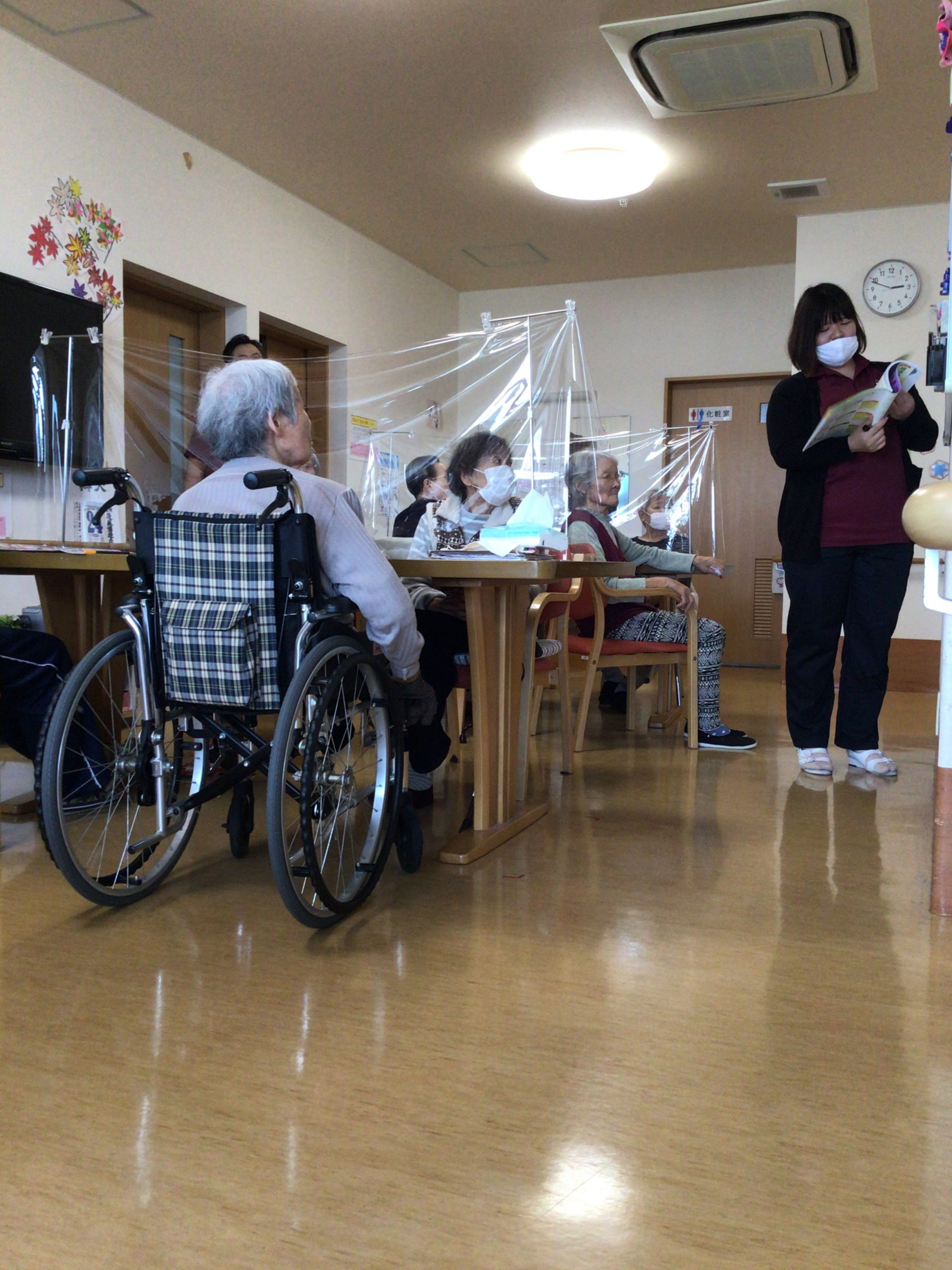 ⭐️湖山ケアサービス米沢⭐️感染防止の勉強会