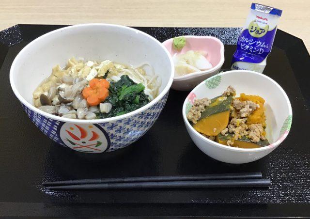 オードエクラ栄養科「白石温麺献立」