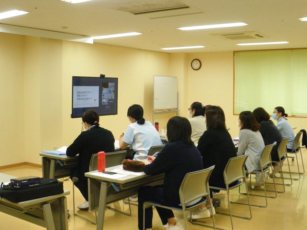 川西湖山病院 看介護部「緑愛会 リーダーキャリアアップ研修」