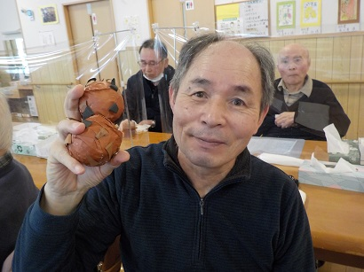 楓の家 秋の収穫❕「栗ひろいゲーム!!」