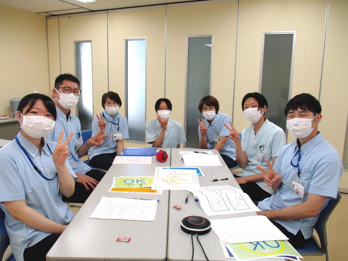 川西湖山病院 看介護部「令和3年度新入職員フォローアップ研修!!」